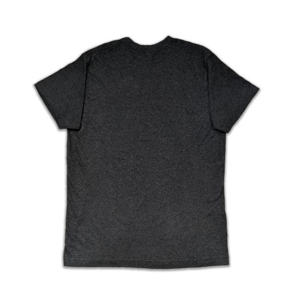 Back of Dark Grey T-Shirt
